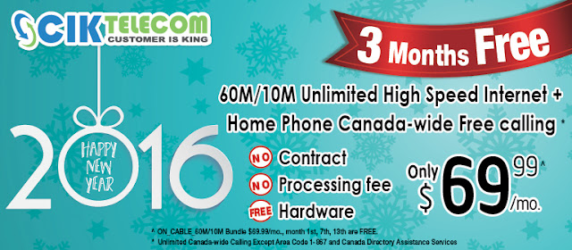 Cable Bundle plans in Ontario