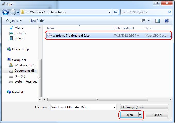 Window Using USB Flash Drive