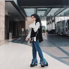 Fashion Wanita Hijab Tomboy