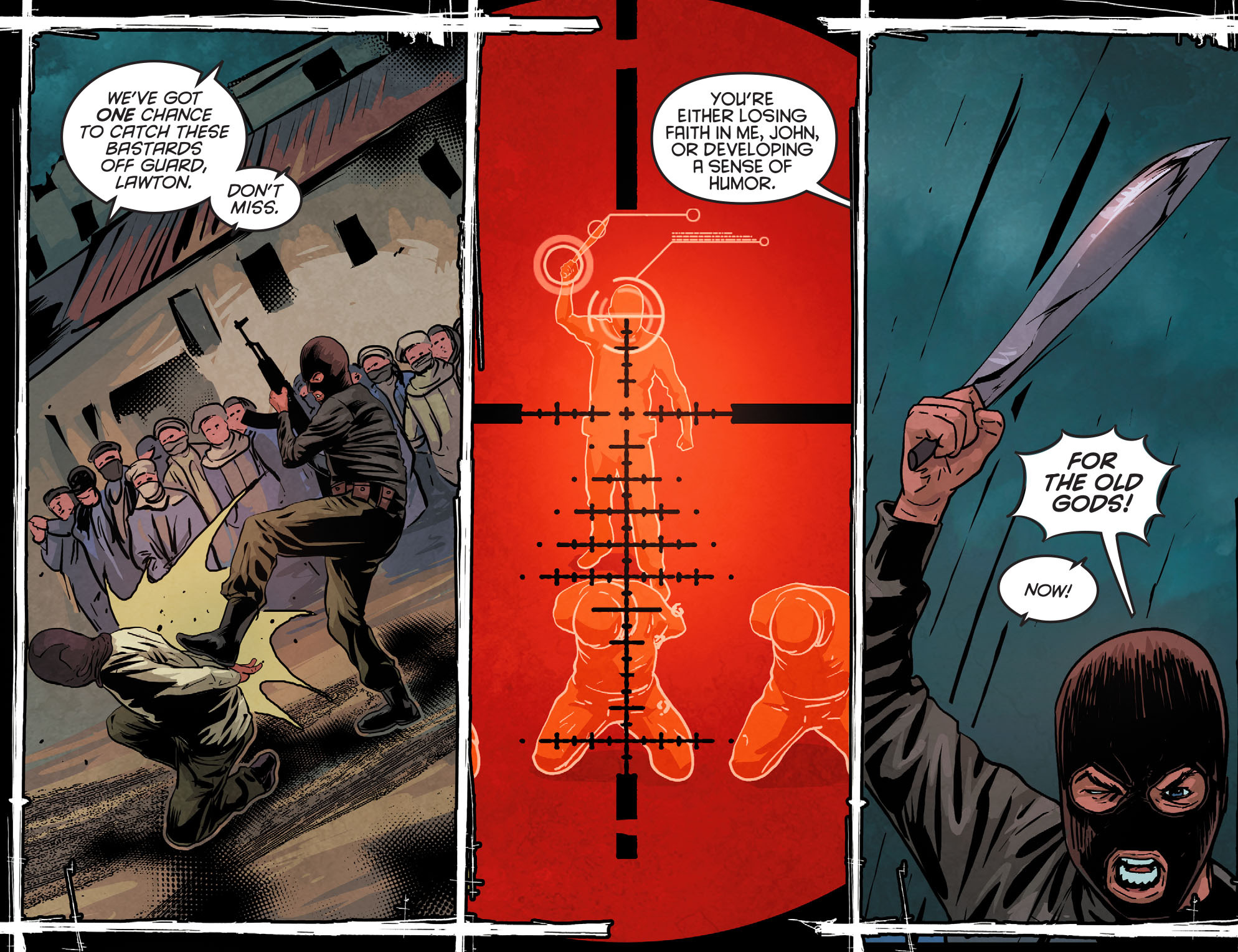 Read online Arrow: Season 2.5 [I] comic -  Issue #11 - 15
