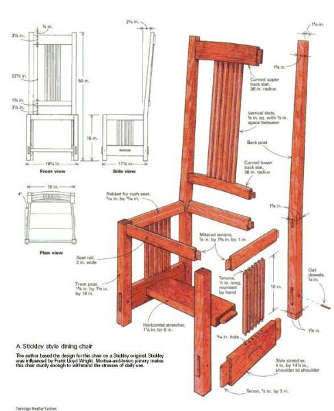 Woodworking Free Plans Chair Woodworking Plans