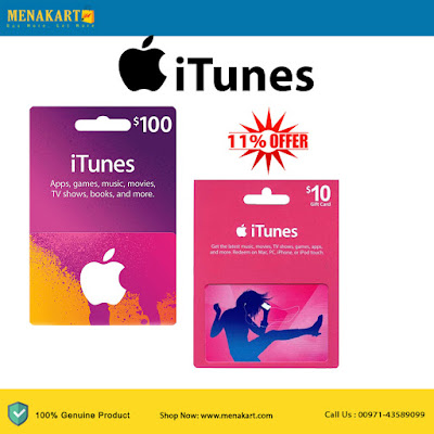 $100 & $10 USA iTunes Card Bundle (Email Delivery)