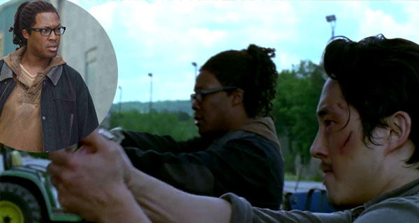 Haeth en The WAlking Dead temporada 6