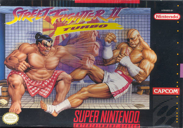 Street Fighter II Turbo (Super Nintendo)