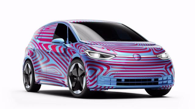 Volkswagen ID 3 carro elétrico está chegando, graças a Elon Musk