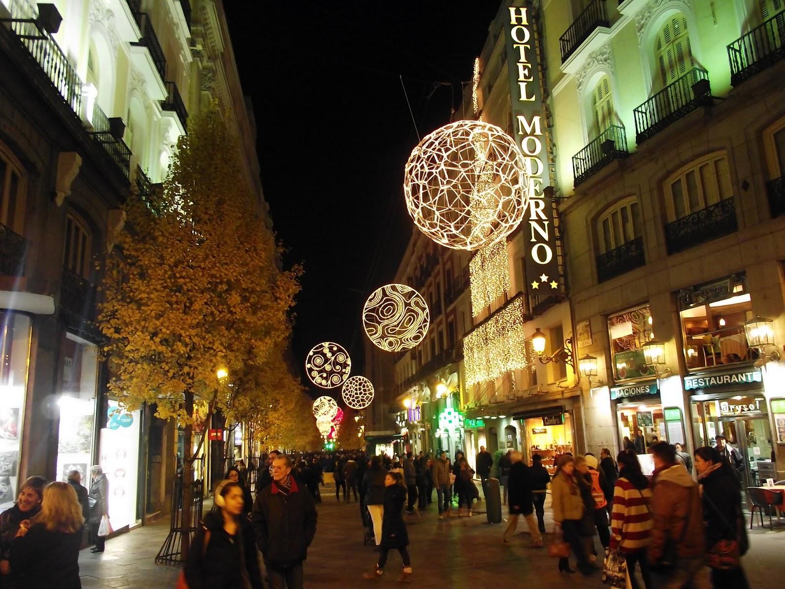 Navidad en las calles de Madrid