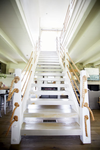 Stair Wall Lighting Farmhouse