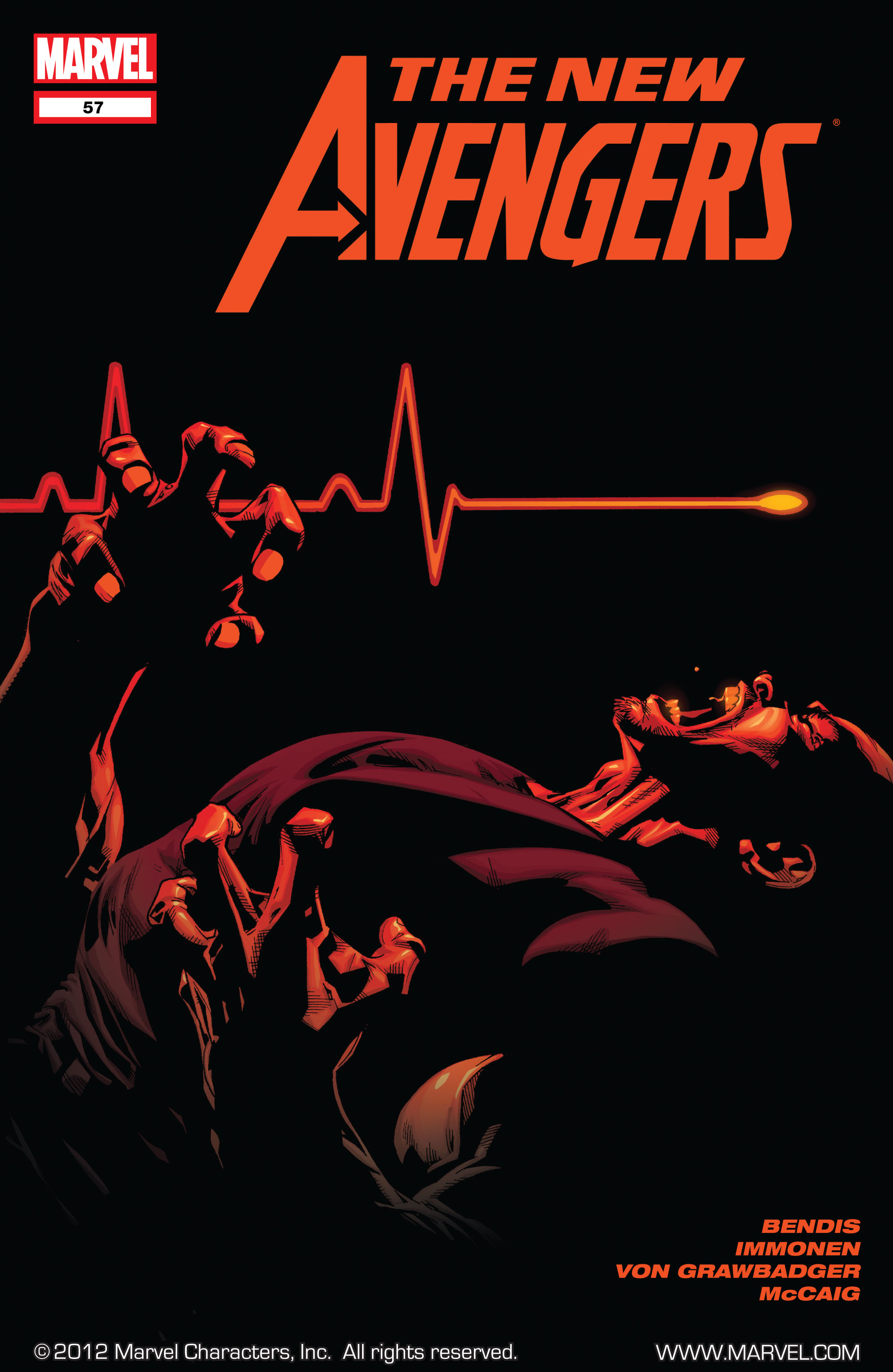 New Avengers (2005) issue 57 - Page 1