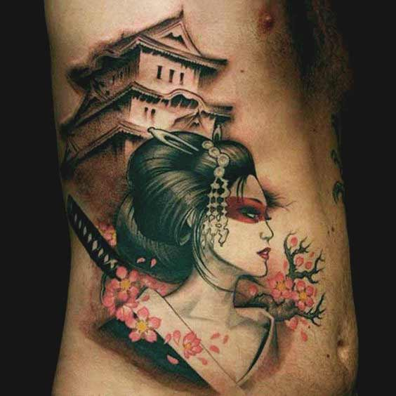 geisha tattoo book