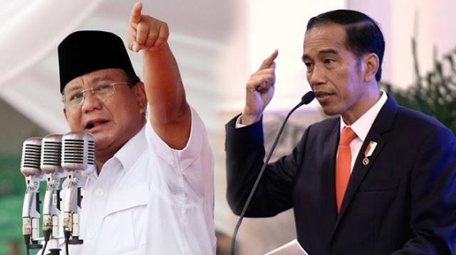 Jauh Mengungguli Prabowo, Hasil Survei Konsepindo : Jokowi-Ma'ruf 55 Persen, Prabowo-Sandiaga 33,2 Persen