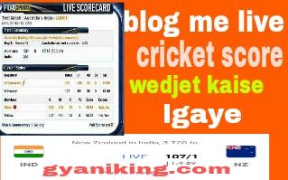Live cricket score wedjet,