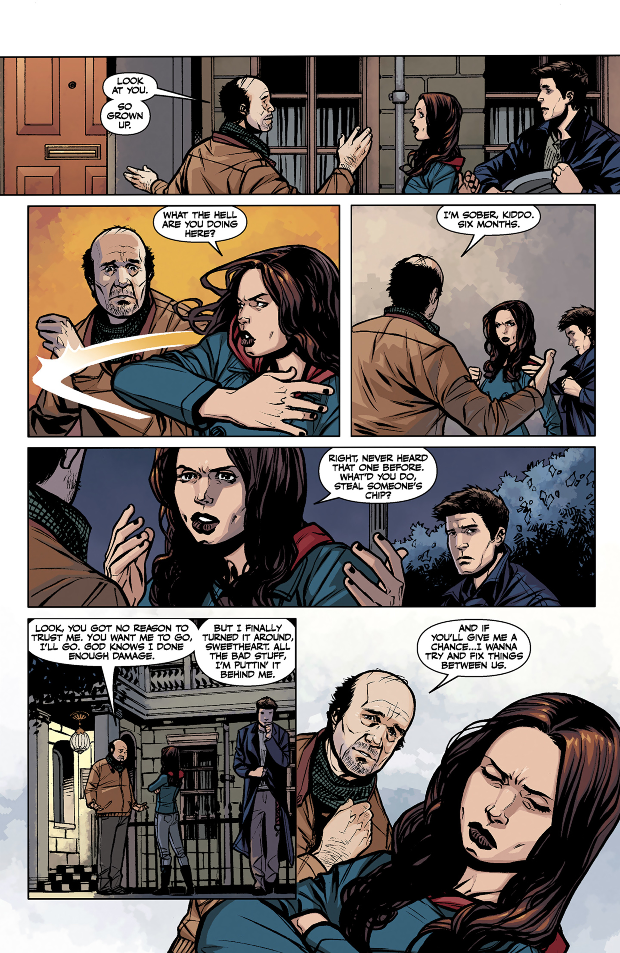 Read online Angel and Faith comic -  Issue #7 - 12