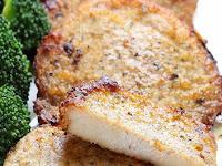 Baked Garlic Parmesan Pork Chops