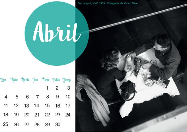 ffbad4899 Condesa Patitiesa  Calendario Abril 2016