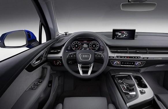 2017 Audi Q8 Interior
