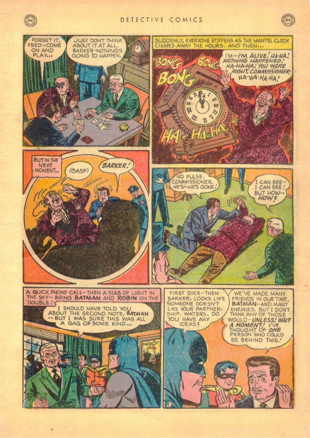 Read online Detective Comics (1937) comic -  Issue #161 - 6