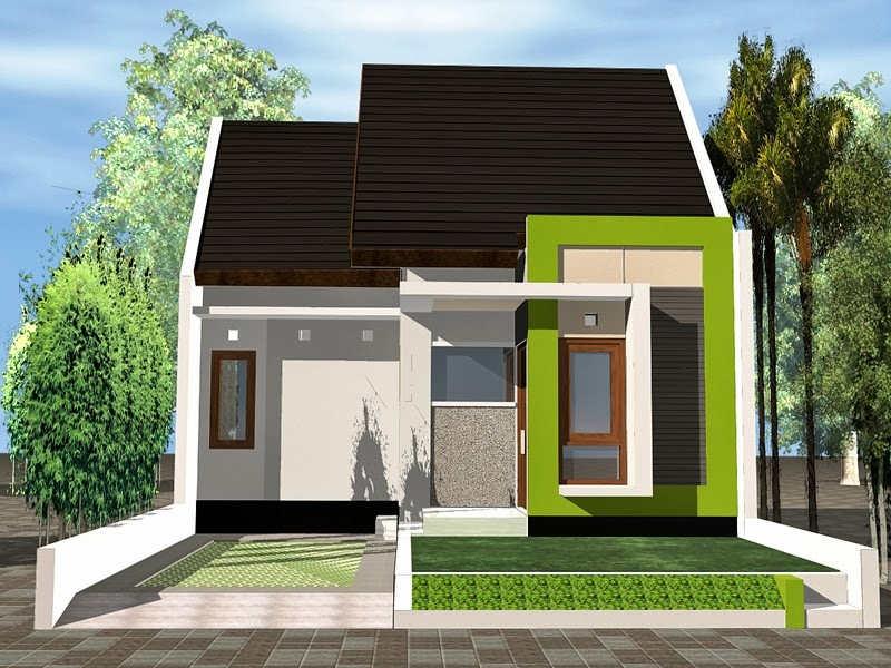 Model Rumah Sederhana 1 Lantai Minimalis Modern