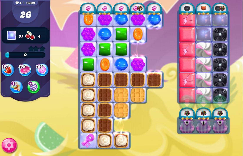 Candy Crush Saga level 7239