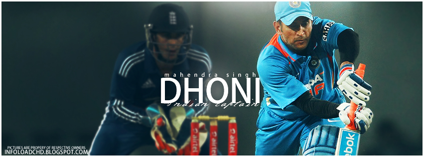 MS DHONI FACEBOOK COVER InfoLoad
