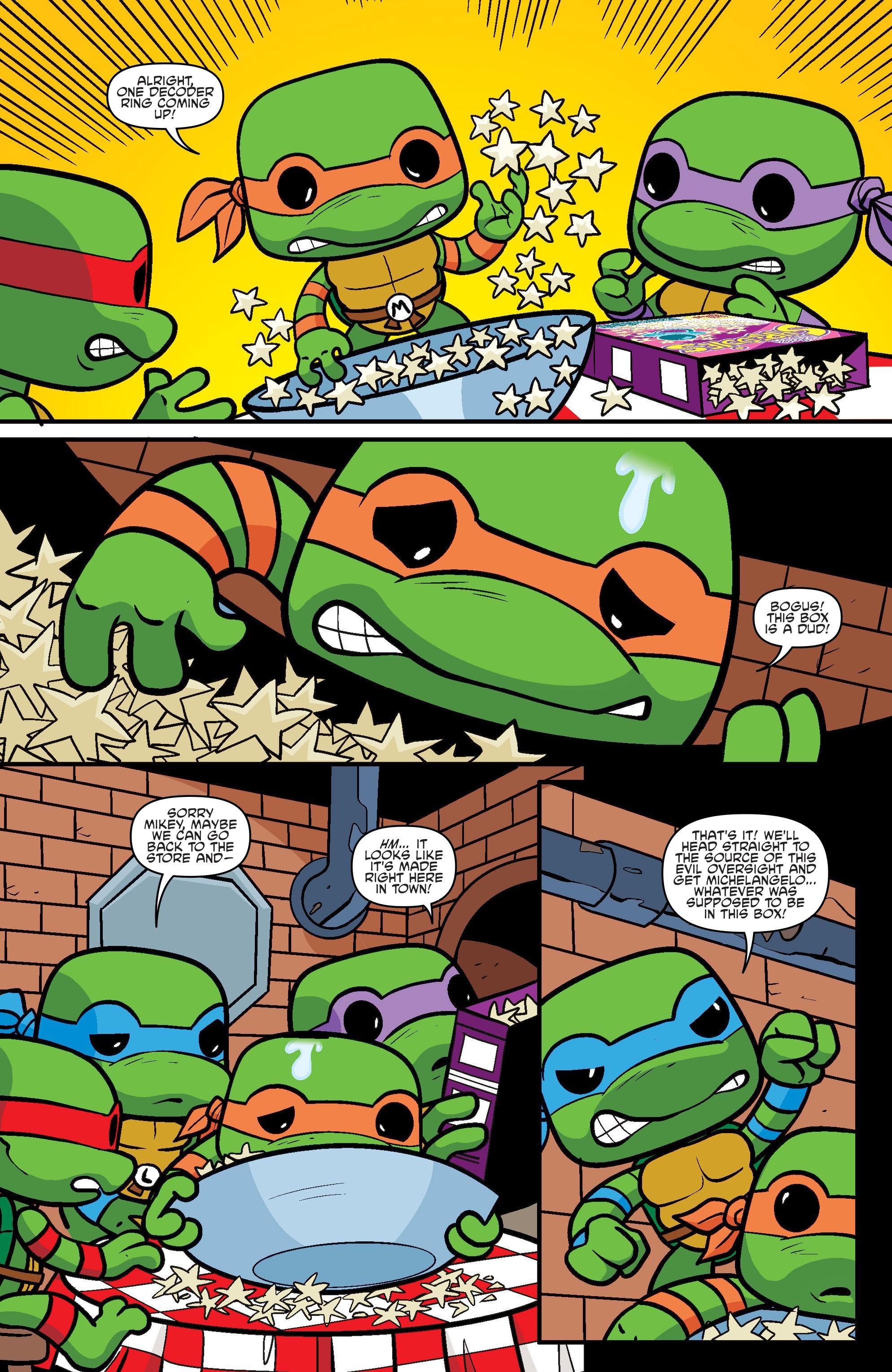 Read online Teenage Mutant Ninja Turtles Universe comic -  Issue #11 - 32