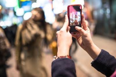fotografar ou filmar no Japão