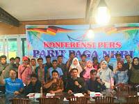 Himpun pemuda dan Masyarakat Parit Paga NKRI Mendeklarasikan Diri Untuk Mengawal Pemilu Tentram di Sumatera Barat
