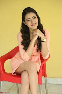 Rukshar Mir in a Peachy Deep Neck Short Dress 093.JPG