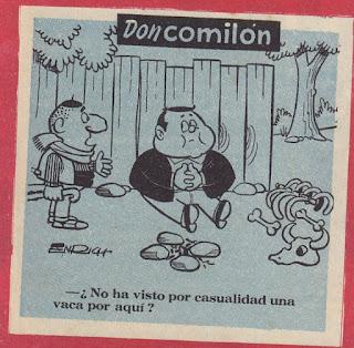 Don Comilón, Rififí nº 7