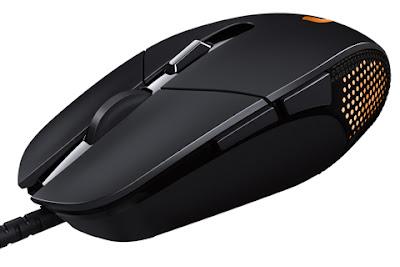 Mouse Gaming CSGO Terbaik 2017 - Logitech G303 Daedalus Apex - 30kbps