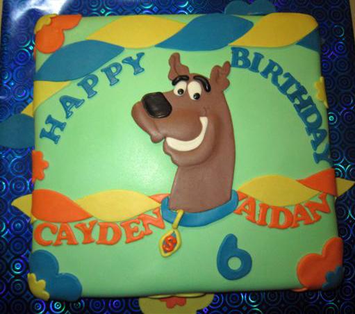 Scooby Doo Baby Shower Theme: Delana's Cakes: Scooby Doo