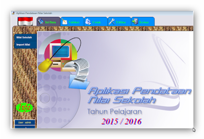 Aplikasi Pengolahan Nilai Sekolah Terbaru 2016