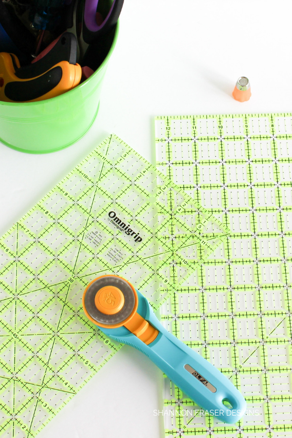 Quilting Rulers | Top 10 quilting notions & tools to get started | Shannon Fraser Designs