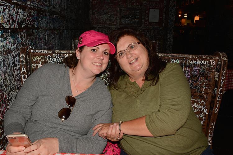 Mom & Becky at Ginos