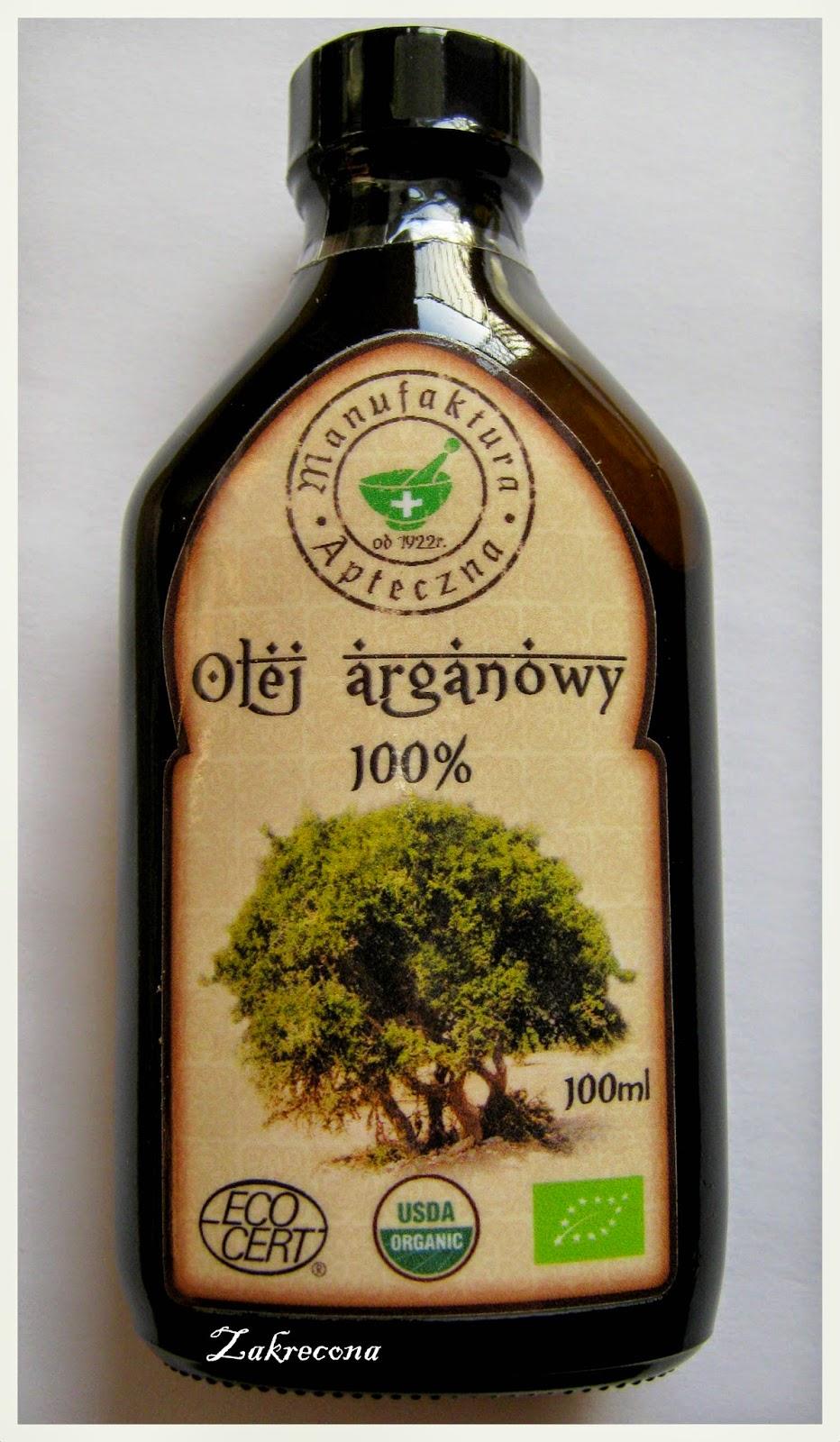 100% olej arganowy od Manufaktury Aptecznej