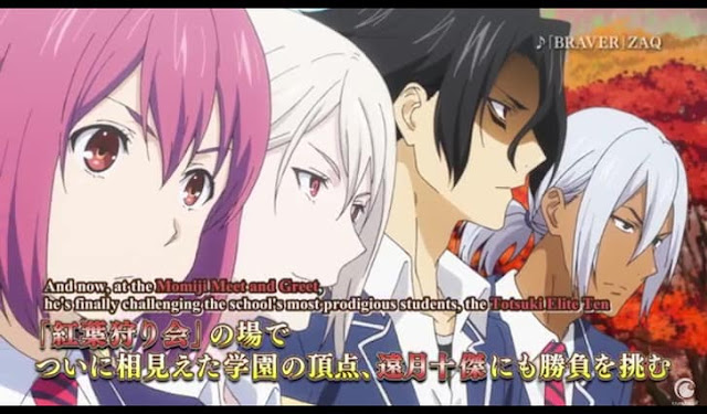 First screenshot from Food Wars! The Third Plate second trailer