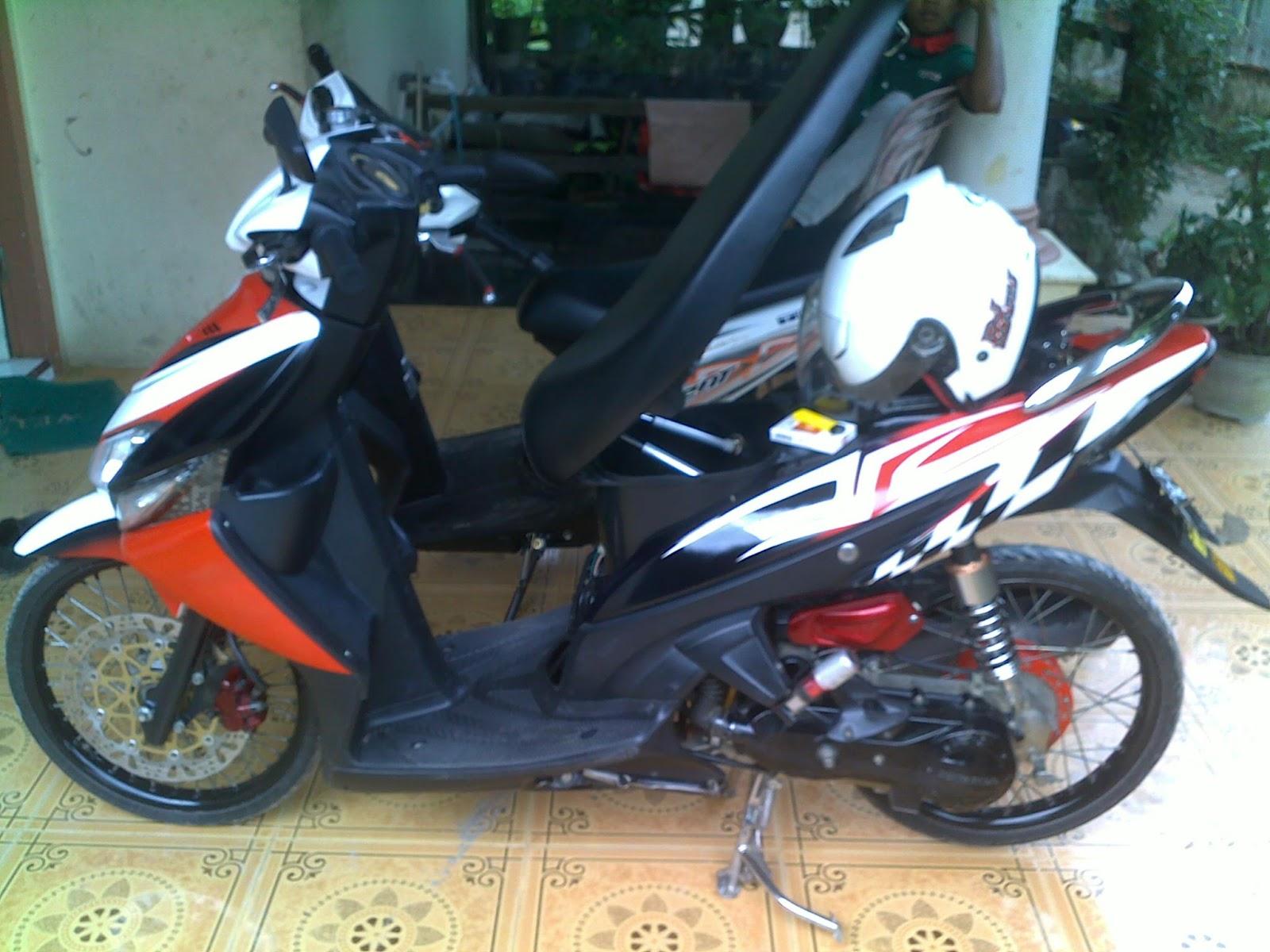 Foto Modif Balap Honda Vario My Motor By JUMAN