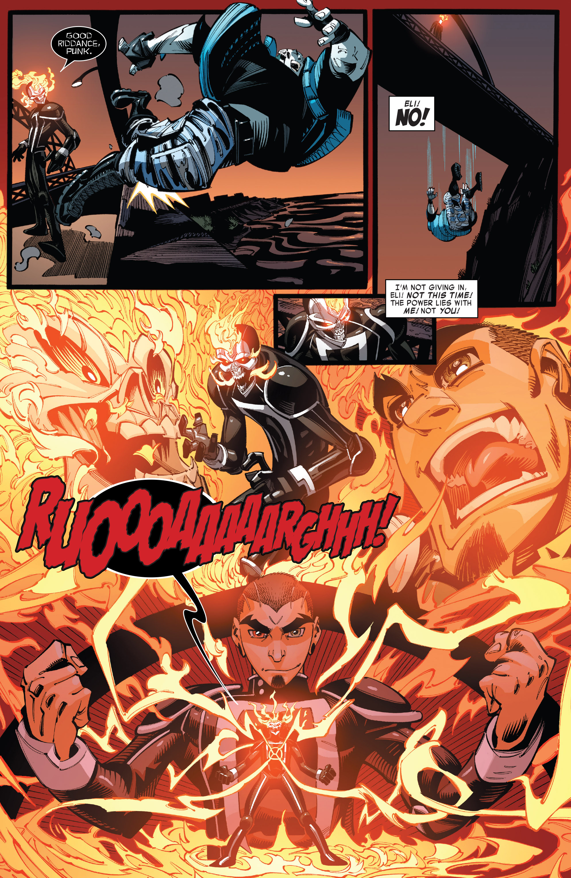 Read online All-New Ghost Rider comic -  Issue #10 - 16