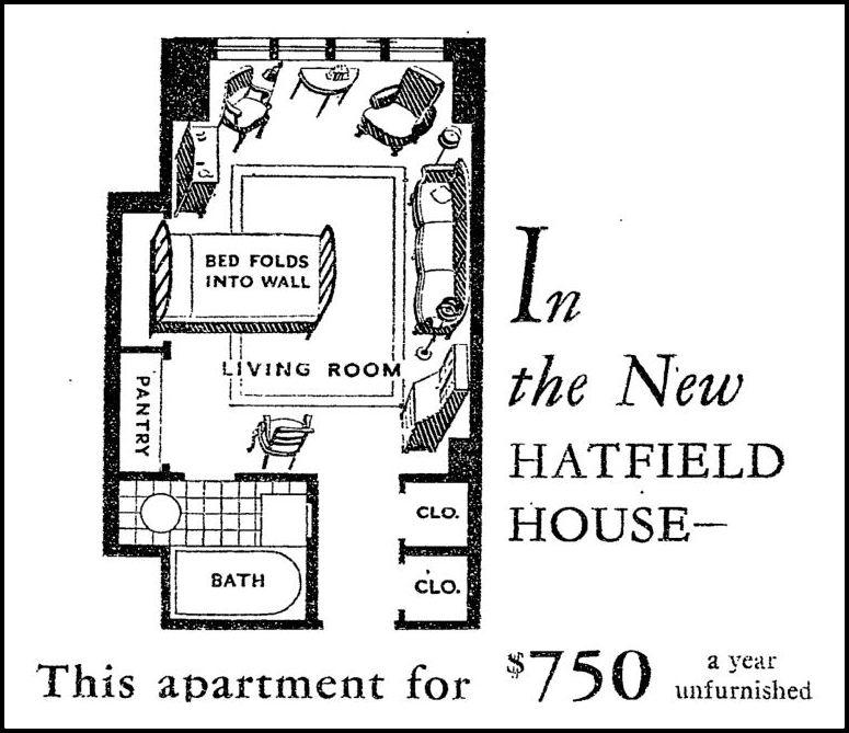 Tudor City Confidential Building Spotlight HADDON HALL HARDWICKE – Hatfield House Floor Plan