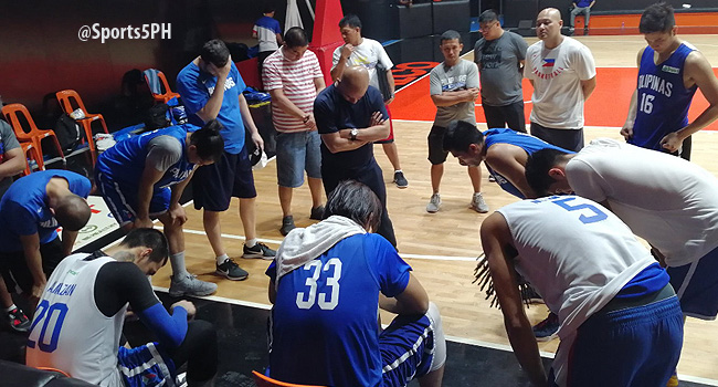 Gilas Pilipinas' First Practice for the FIBA World Cup 2019 (VIDEO) June 17
