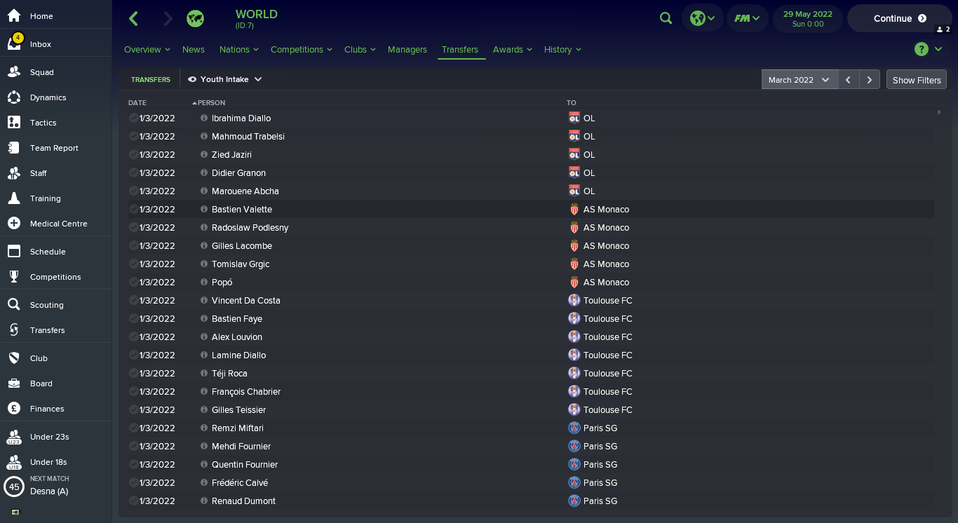 How to Find the Best Regens in Football Manager