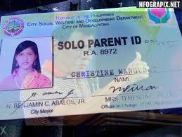 Solo parent id