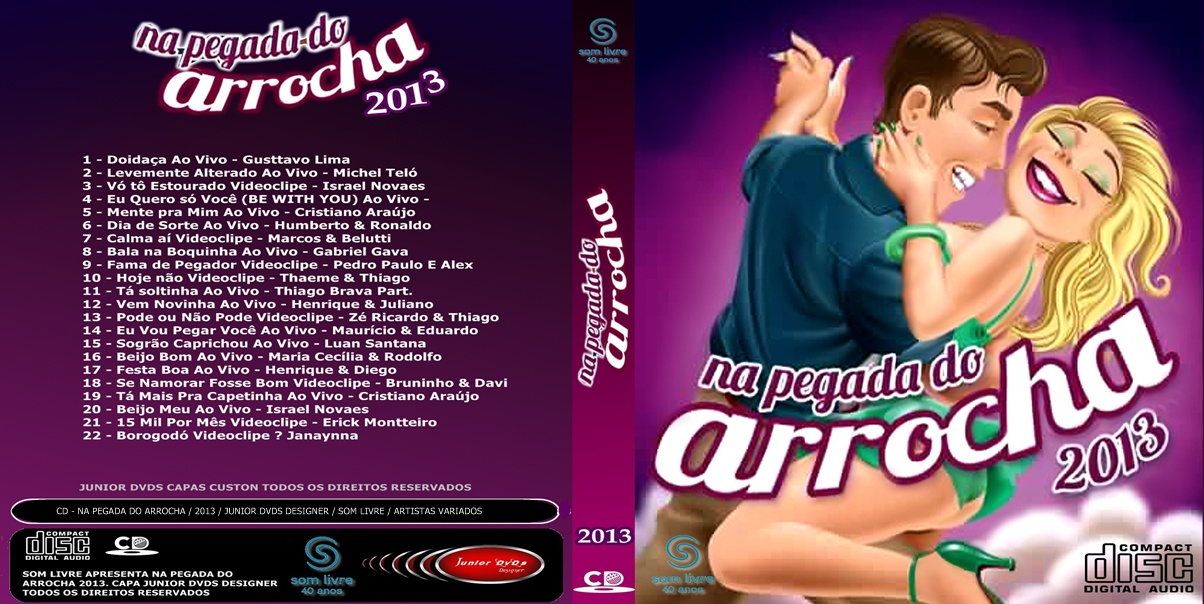 cd pegada do arrocha 2013