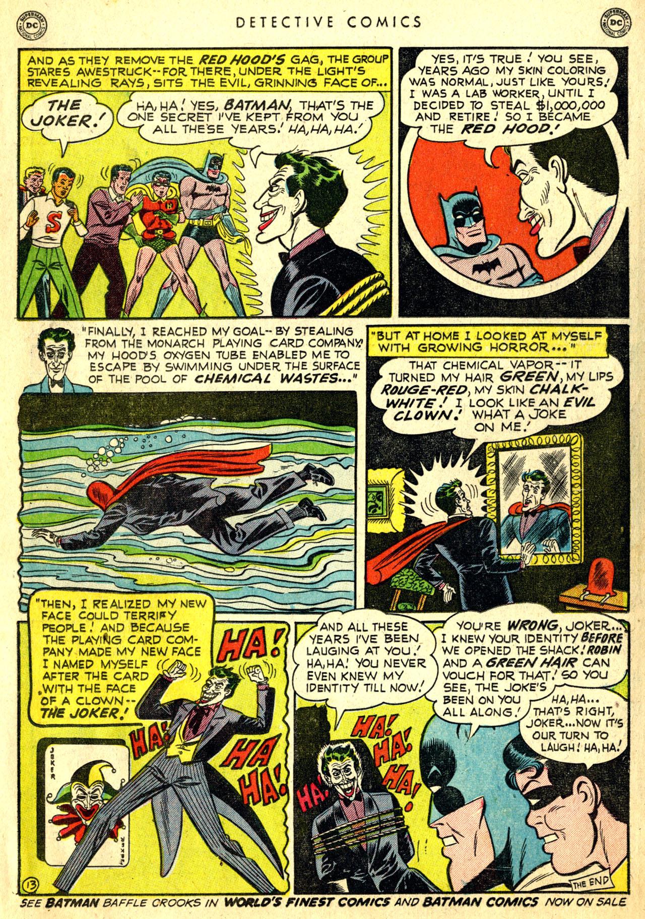 Read online Detective Comics (1937) comic -  Issue #168 - 15