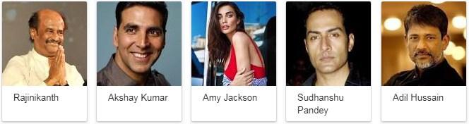Robot 2.0 Movie Star Cast