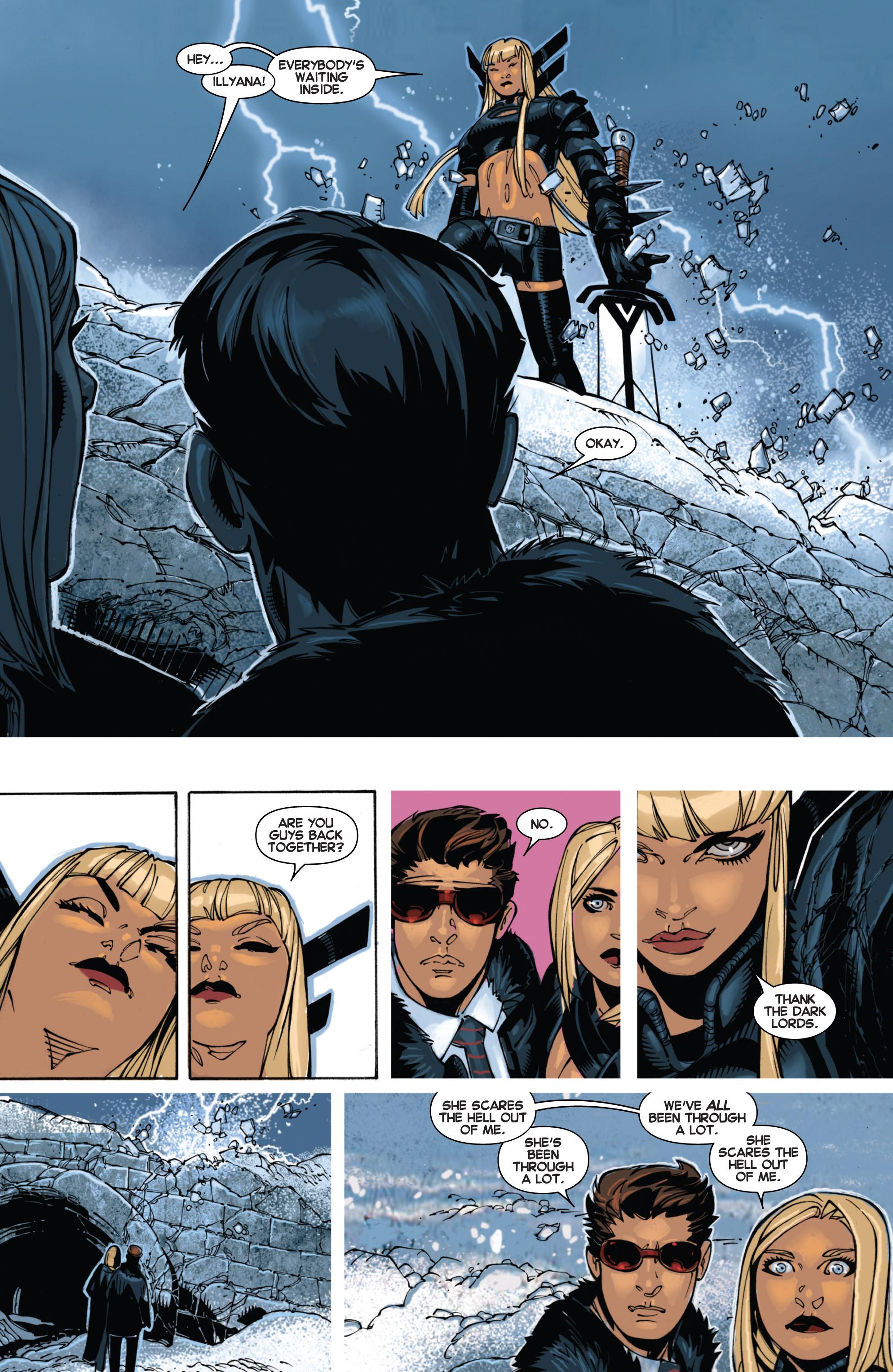 Read online Uncanny X-Men (2013) comic -  Issue #2 - 8