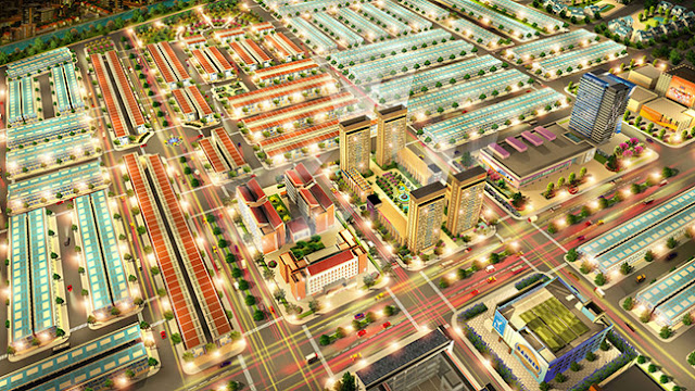 phối cảnh dự án richland city
