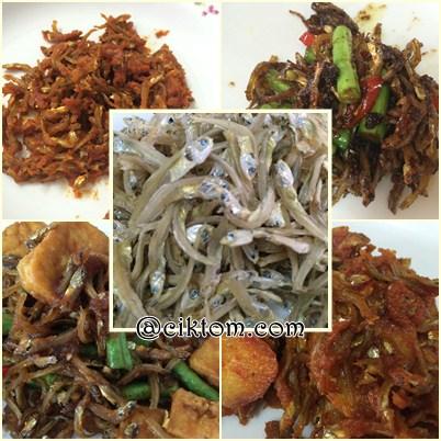 resepi pelbagai menu ikan bilis mata biru pangkor
