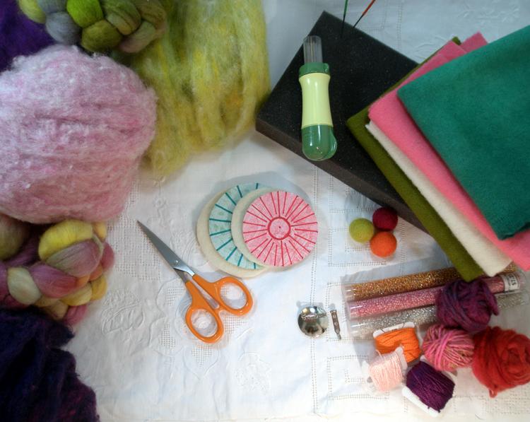 felting wool fabric instructions