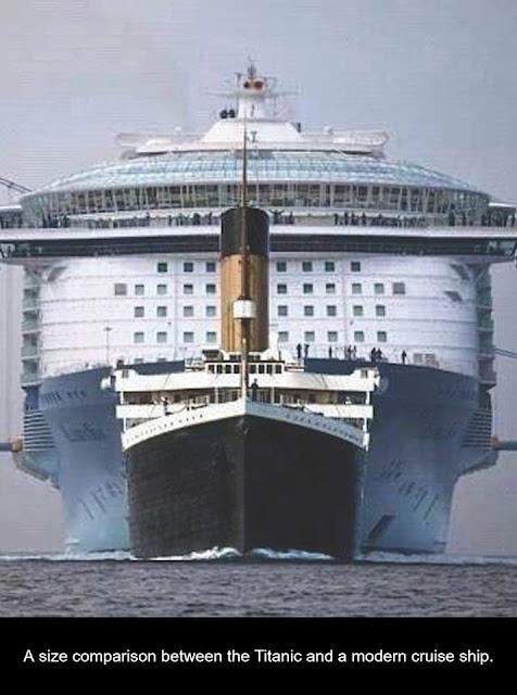 Comparing cruiseships
