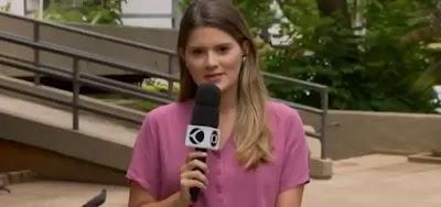 Marcela Mesquita, repórter do MG1 Centro-Oeste